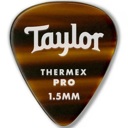 Taylor Picks - Thermex Pro 346, Tortoise Shell, 1.50 mm, 24 Pack