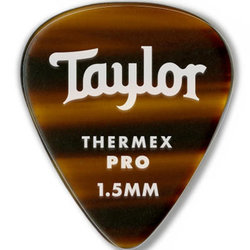 Taylor Picks - Thermex Pro 351, Tortoise Shell. 1.50 mm, 24 Pack