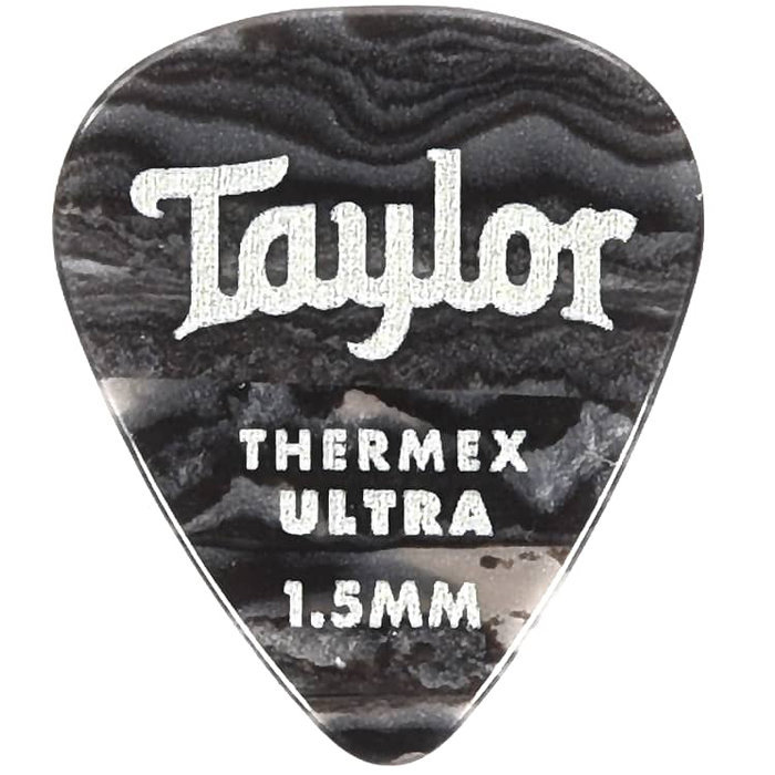View larger image of Taylor Picks - Thermex Ultra 351, Black Onyx, 1.50 mm, 24 Pack