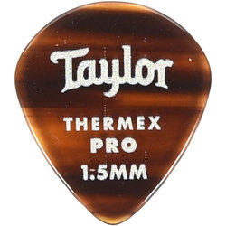 Taylor Picks - Thermex Pro 651, Tortoise Shell, 1.50 mm, 24 Pack