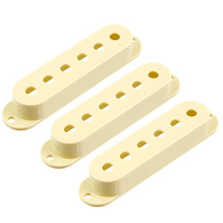 Pickup Covers for Stratocaster - Cream, 3 Pack
