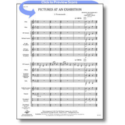Pictures at an Exhibition - Score & Parts, Grade 1