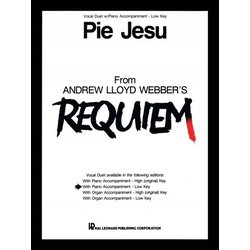 Pie Jesu (from Requiem/Weber) , Vocal Duet/Low Key
