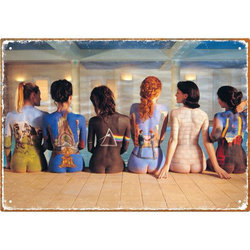 Pink Floyd Back Art Tin Sign