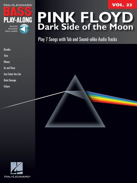 View larger image of Pink Floyd – Dark Side of the Moon - Bass Play-Along Volume 23 w/Online Audio