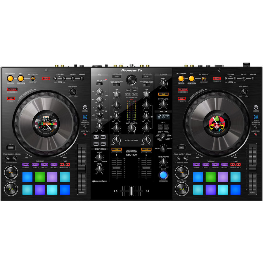 View larger image of Pioneer DDJ-800 2-Channel Portable DJ Controller
