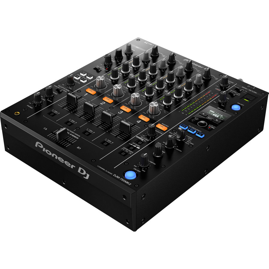 View larger image of Pioneer DJM-750MK2 4-channel DJ Mixer