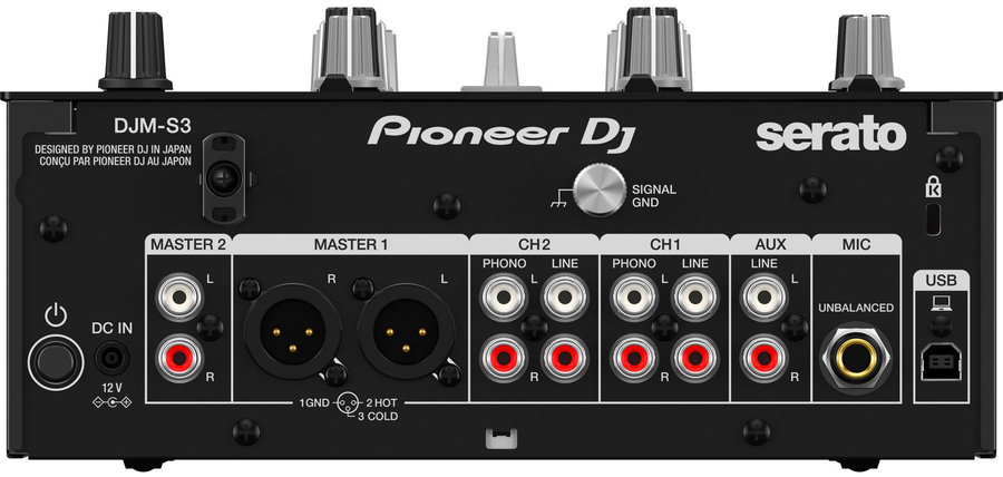 View larger image of Pioneer DJM-S3 2 Channel Serato DJ Mixer