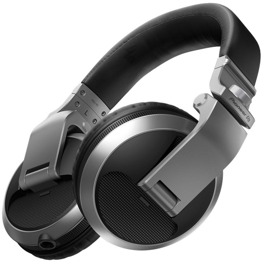 View larger image of Pioneer HDJ-X5 Over-Ear DJ Headphones - Silver