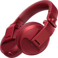 Pioneer HDJ-X5BT DJ Bluetooth Headphones - Red