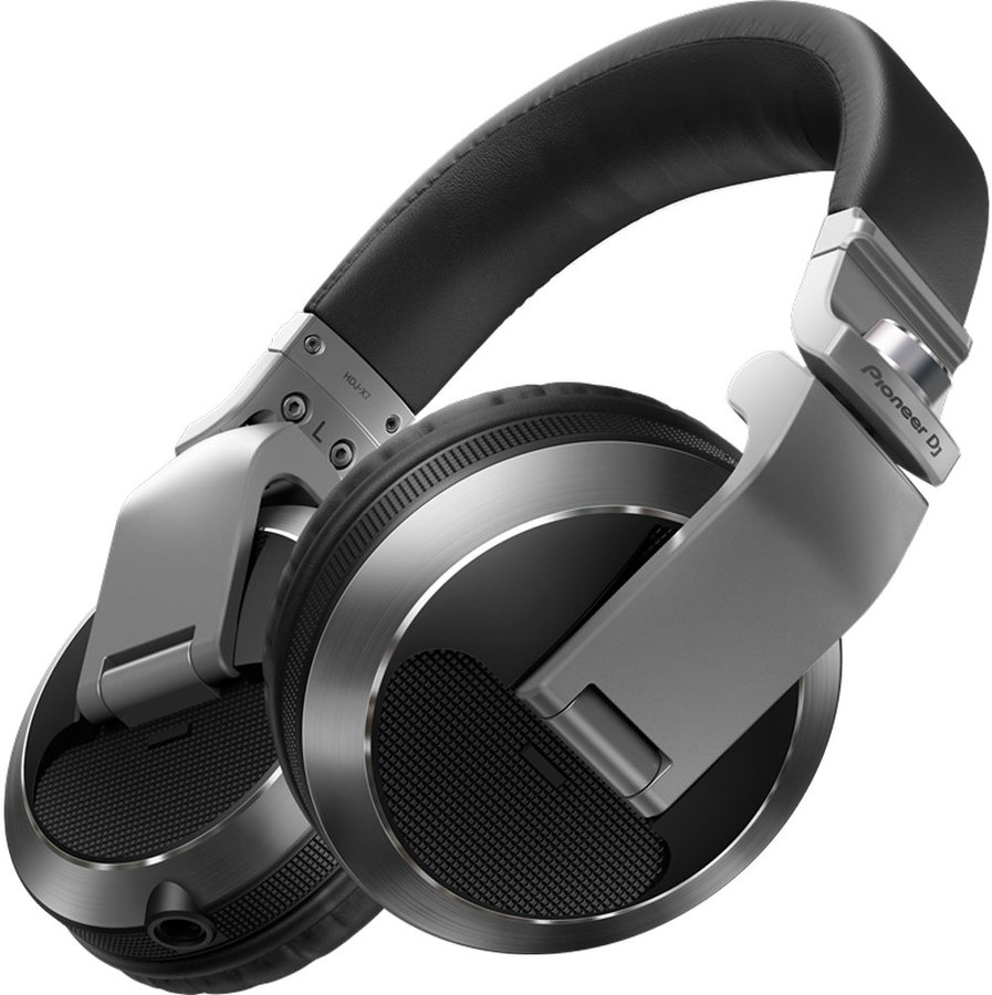 View larger image of Pioneer HDJ-X7 Professional Over-Ear DJ Headphones - Silver