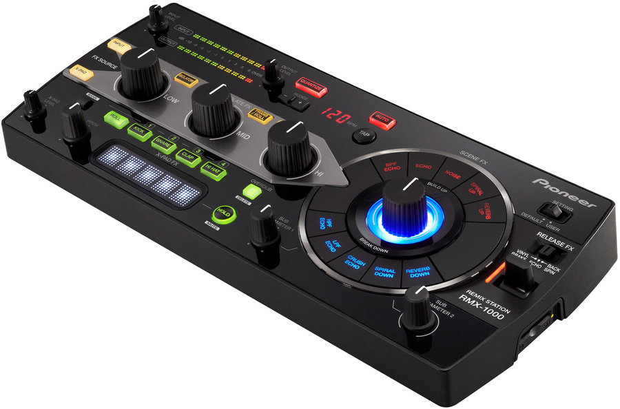 View larger image of Pioneer RMX-1000 3-in-1 Remix Station - Black