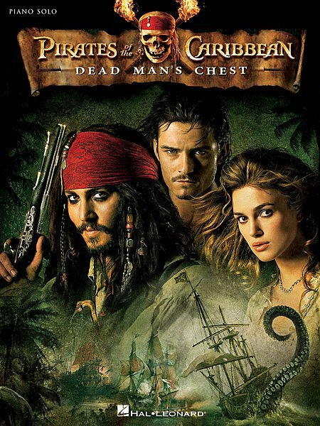 View larger image of Pirates of the Caribbean: Dead Man's Chest - Selections, Score & Parts, Grade 2