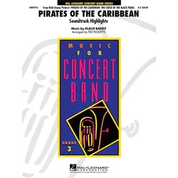 Pirates of the Caribbean (Soundtrack Highlights) - Score & Parts, Grade 3