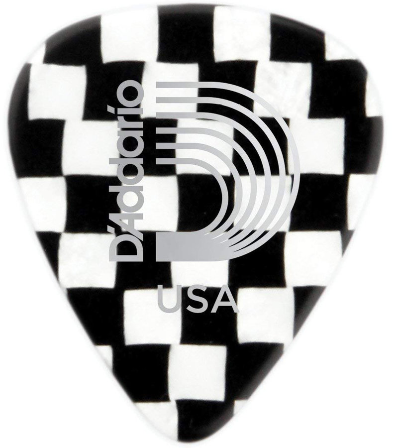 View larger image of Planet Waves 1CCB2-10 Checkerboard Celluloid Guitar Picks - 10 pack - Light