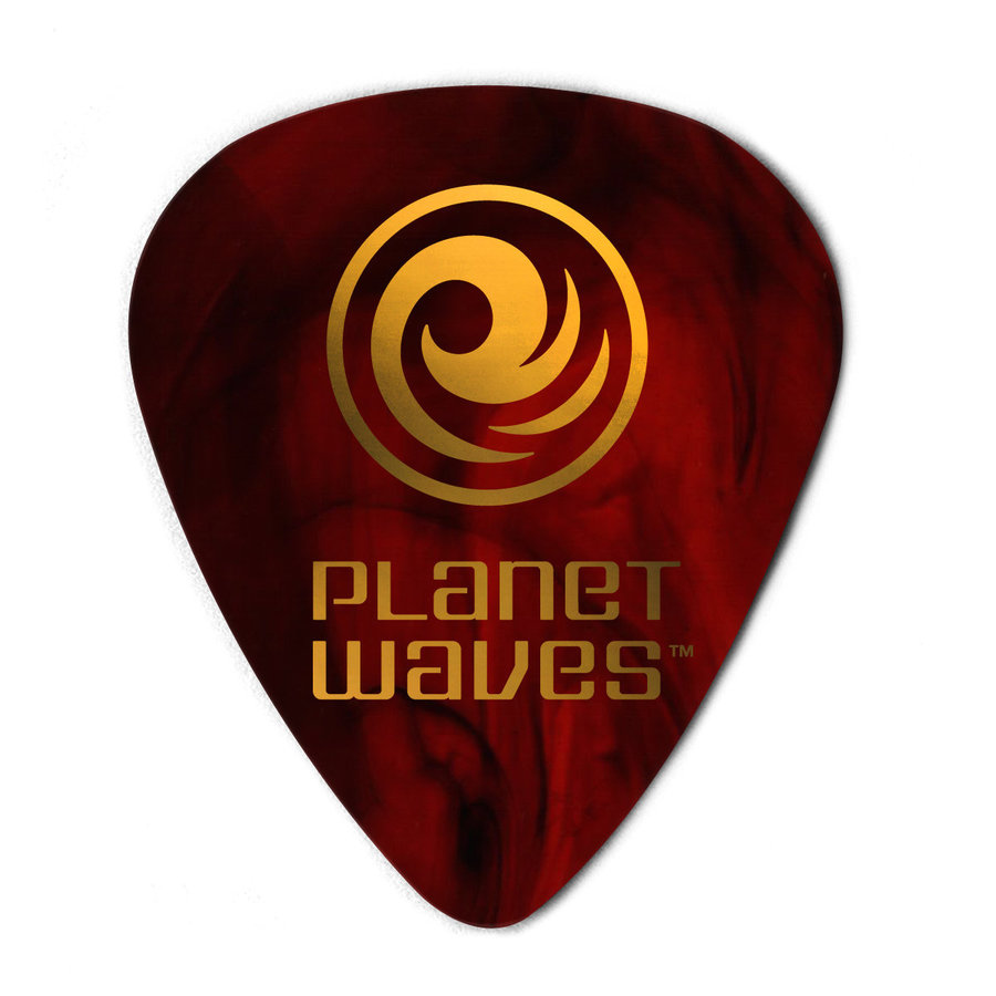 View larger image of Planet Waves 1CSH2-10 Shell Colour Celluloid Guitar Picks - 10 Pack - Light