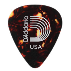 Planet Waves 1CSH7-25 Shell Colour Celluloid Guitar Picks - 25 Pack - Extra Heavy