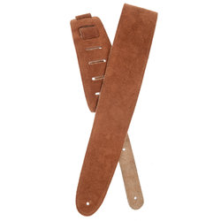 Planet Waves 25SS02-DX Suede Guitar Strap - Honey