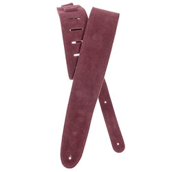 Planet Waves 25SS03-DX Suede Guitar Strap - Burgundy