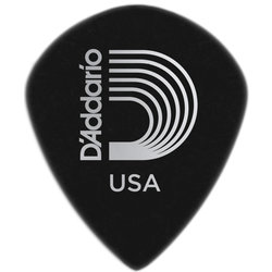 Planet Waves 3DBK7-25 Black Ice Guitar Picks - 25 pack - Extra-Heavy