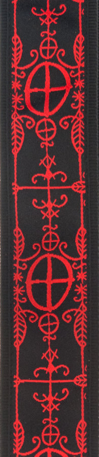 View larger image of Planet Waves 50A12 Woven Guitar Strap - Voodoo