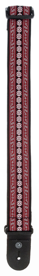 View larger image of Planet Waves 50A13 Woven Guitar Strap - Henna