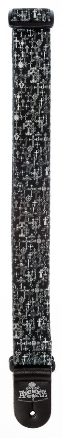 View larger image of Planet Waves 50AL02 Alchemy Guitar Strap - Gothic Crosses