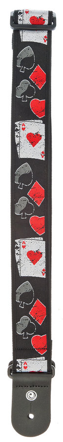 View larger image of Planet Waves 50D01 Woven Guitar Strap - Hold 'em