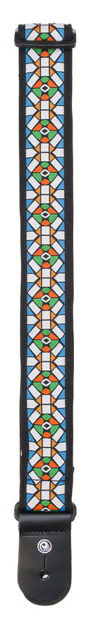 View larger image of Planet Waves 50E02 Woven Guitar Strap - Stained Glass