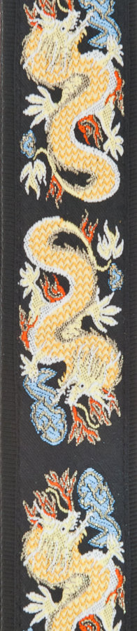 View larger image of Planet Waves 50F08 Woven Guitar Strap - Dragon