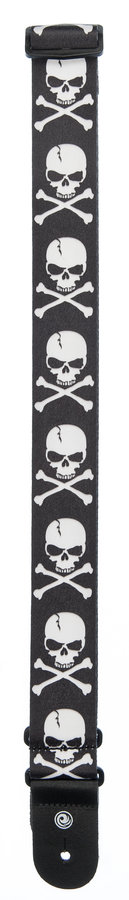 View larger image of Planet Waves 50H01 Sublimiation Printed Skull and Cross Bone Guitar Strap