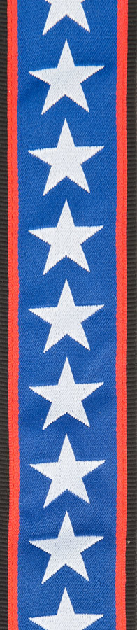 View larger image of Planet Waves 50PLA10 Planet Lock Guitar Strap - Stars & Stripes