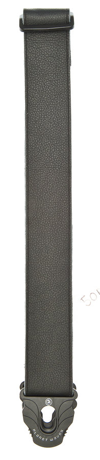 View larger image of Planet Waves 50PLL00 Planet Lock Leather Guitar Strap - Black