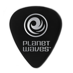 Planet Waves ACBK7-10 Black Celluloid Guitar Picks - Extra Heavy - 10 Pack