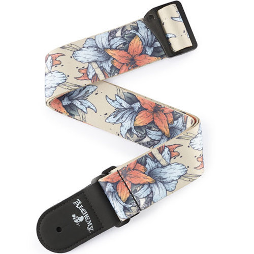 View larger image of Planet Waves Alchemy Guitar Strap - Death in Bloom