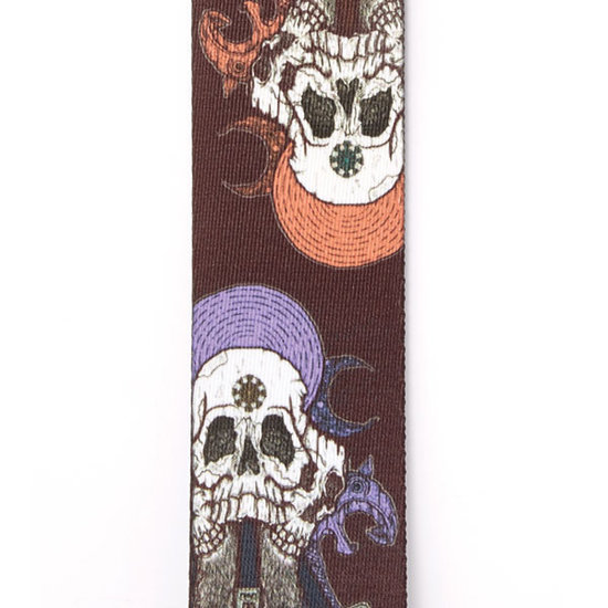 View larger image of Planet Waves Alchemy Planet Lock Guitar Strap - Gods of War