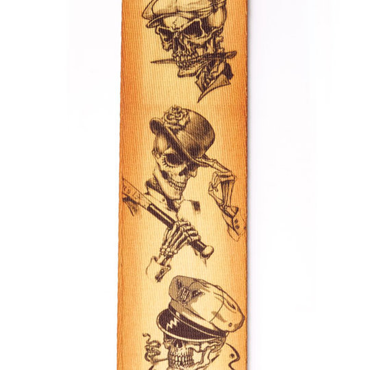 View larger image of Planet Waves Alchemy Planet Lock Guitar Strap - Rogues Gallery