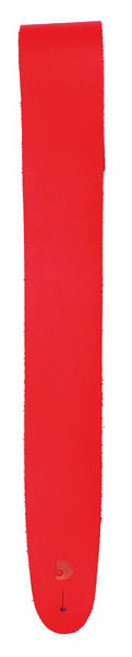 View larger image of Planet Waves Classic Leather Guitar Strap - Red