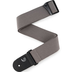 Planet Waves Classic Tweed Guitar Strap - Grey, 50mm