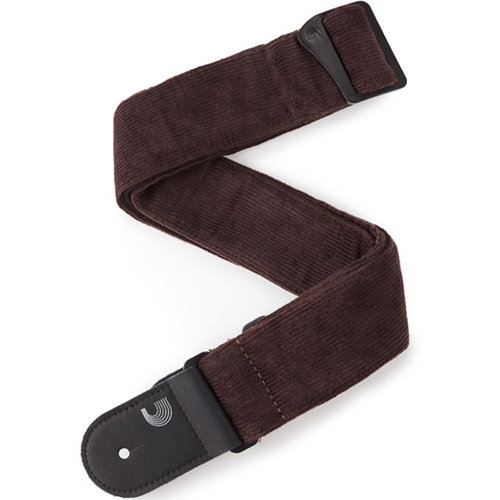 View larger image of Planet Waves Corduroy Woven Guitar Strap - Brown