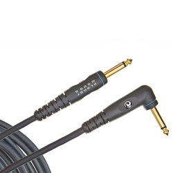 Planet Waves Custom Series Instrument Cable - Right Angle - 10'