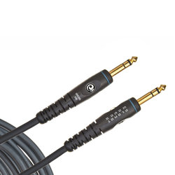 Planet Waves Custom Series Instrument Cable - Stereo - 10'