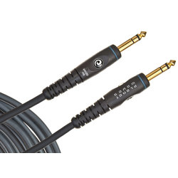 Planet Waves Custom Series Instrument Cable - Stereo - 25'