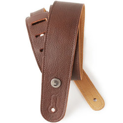 Planet Waves Garment Leather Guitar Strap - Brown