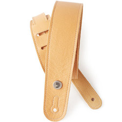 Planet Waves Garment Leather Guitar Strap - Yellow