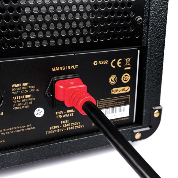View larger image of Planet Waves IEC to NEMA Plug Power Cable Plus - 10'
