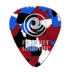 Planet Waves Multi-Color Celluloid Guitar Picks - Heavy, 25 Pack