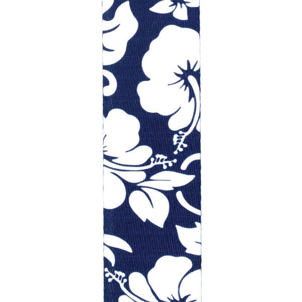 View larger image of Planet Waves P20S1503 Hibiscus Guitar Strap - Blue