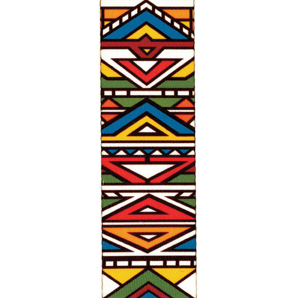 View larger image of Planet Waves P20S1504 Ndebele Guitar Strap