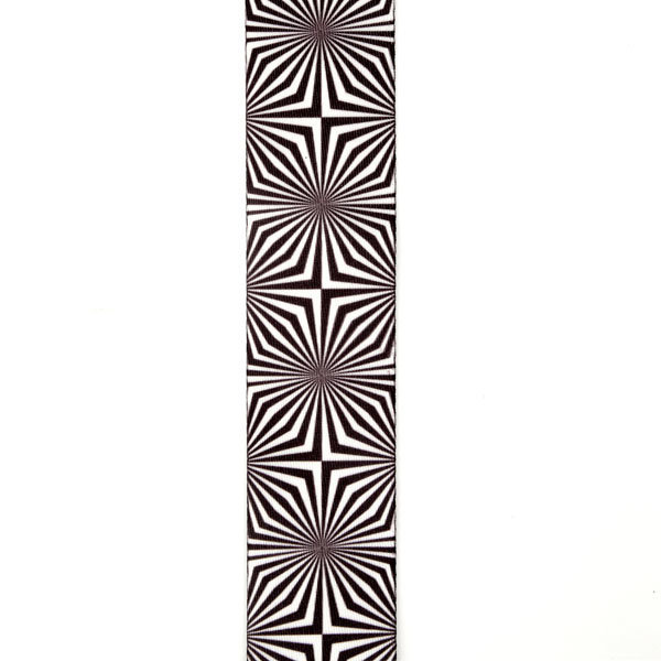 View larger image of Planet Waves P20W1406 Optical Art Guitar Strap - White